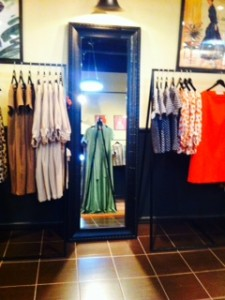 зеркало для магазина одежды Султаны Французовой