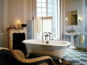 ванная комната в классике